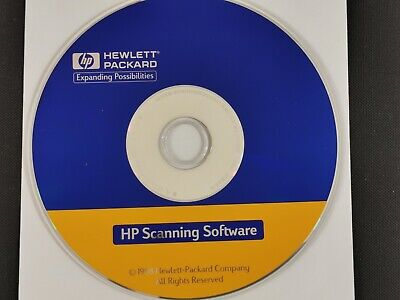 HP Hewlett Packard HP Scanning Software 1998 • 3.95£