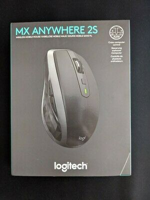 Logitech MX Anywhere 2S Mouse - Graphite - With Box • 13.80£