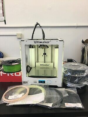 Ultimaker 2 3D Printer With 4KG Filament Bundle (PLA, ABS, PETG, FLEX) • 530£