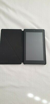 Amazon Kindle Fire Hd7 3rd Gen 7 Inch 16gb Wi-fi - Black With Case • 12£