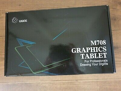 Graphics Tablet M708 UGEE 10 X 6 Inch Large Active Area Drawing Tablet  • 37£