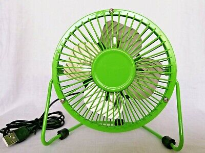 Green Mini USB Fan Ventilator • 8.50£