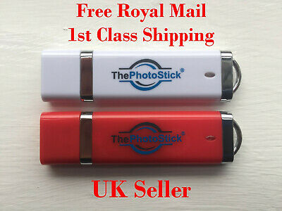 ThePhotoStick 64gb,128gb & 256gb - Easy Photo And Video Backup And Organiser • 41.98£