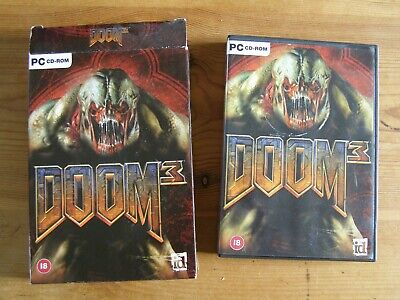 Doom 3 Game For Pc Boxed Pc Cd Rom • 1.95£