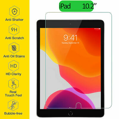 Tempered Glass Film Screen Protector For Apple IPad 10.2  7th Generation New Gen • 3.90£