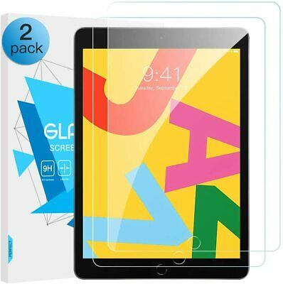 2 Pack HD Tempered Glass Screen Protector For IPad 10.2 2019 7th Generation  • 5.65£