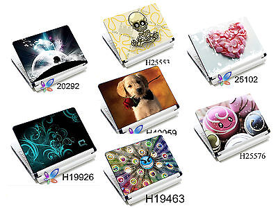 15.4'' 15.6   Laptop Skin Cover Notebook Sticker Decal MUTI List • 7.99£