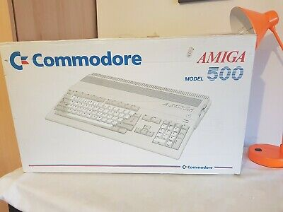 Commodore Amiga 500, In Original Box, With Some Disc Untested, Vintage Computing • 150£