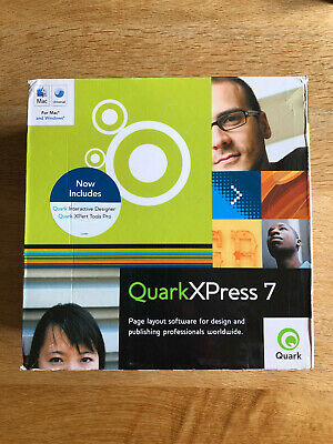 QuarkXpress 7 For Mac And PC • 50£
