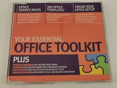 Office Toolkit Software CD 2002 Future Publishing Office 2000 & XP • 3.99£
