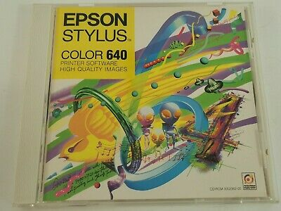Epson Stylus Color 640 Printer Software PC CD-Rom Windows • 3.99£