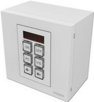 6 Button TC3-CTL Vision Techconnect Faceplate IR RS232 Wall Control Module • 172.50£