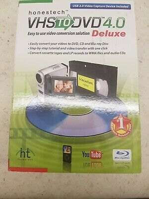 Honestech VHS And AUDIO TO DVD V4  • 5.50£