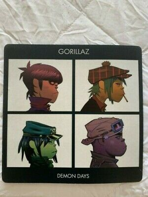 Gorillaz Demon Days Mouse Mat Retro New • 15.99£