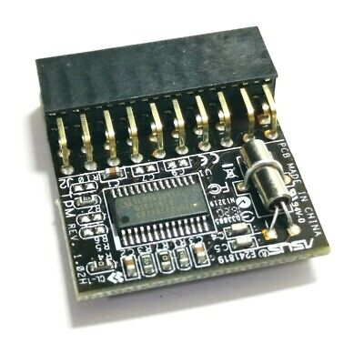 Asus TPM MODULE FW3.19 - Trusted Platform Module - BRAND NEW WITH SOFTWARE DISC! • 7.99£