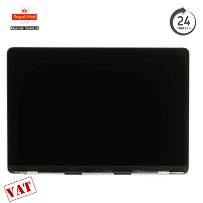 MacBook Pro 13  A1706 A1708 2016 2017 LCD Screen Assembly Silver • 249.99£