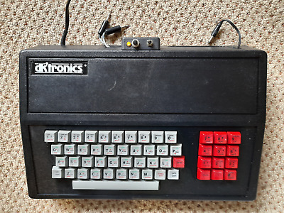 Vintage DK'Tronics Keyboard With Sinclair ZX Spectrum Computer Mainboard Inside • 46.73£