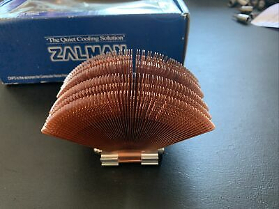 New Zalman Fanless Cpu Cooler Cnps6000-cu With Orginal Box Good Condition • 50£