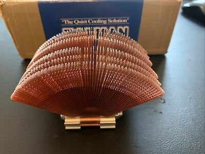 Used Zalman Fanless Cpu Cooler Cnps6000-cu With Box And Fittings • 40£