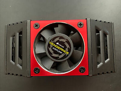 Corsair Vengeance Red Ram Cooler Airflow Fan For 4 Modules • 25£