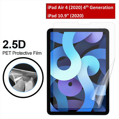 Ultra Clear HD Screen Protector For New IPad Air 4 (10.9 ) 4th Generation 2020 • 1.99£