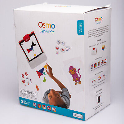 Osmo - Genius Kit For Fire Tablet - 5 Hands-On Learning Games - Ages 6-10 • 65£