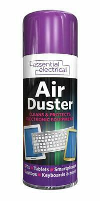 1x Compressed Air Duster Spray Can Clean Laptop Keyboard Mobile 200ml FREE POST • 4.99£