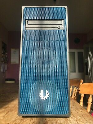 BitFenix Neos ATX Tower Black/Blue With Disk Drive • 20£