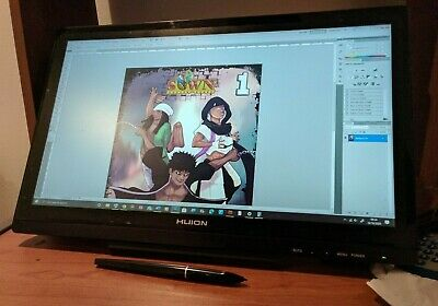 Huion KAMVAS GT-191 Graphics Drawing Tablet Monitor Boxed, Excellent Condition • 200£