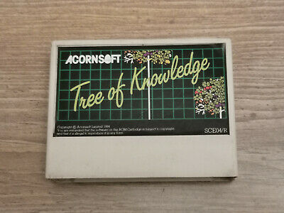 TREE OF KNOWLEDGE Rom Cartridge For The Acorn Electron. Fully Working. • 24.99£