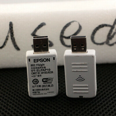 Wireless LAN Card EPSON ELPAP10 USB Wi-Fi Adapter For EPSON Projector • 43£