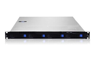 1U Rackmount Server Case 4 Bay X 3.5 HDD SATA Hotswap Hot Swap Gooxi RM1104-660 • 59£