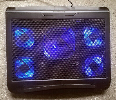 USB Powered Laptop Cooler With Blue Leds • 9£