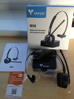 YAMAY M98 Wireless Headset With Microphone (BNIB) • 20£