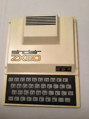 Sinclair ZX80 With Power Supply And Original Chip • 200£