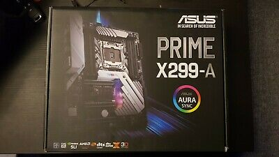 Asus Prime X299 - A ATX Motherboard, Dual M.2, DDR 4000MHz, Front Panel 3.1 Gen2 • 130£