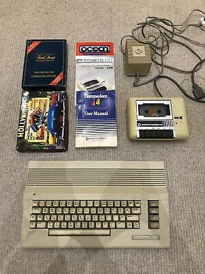 Commodore 64 Computer With 9 Games • 27.40£