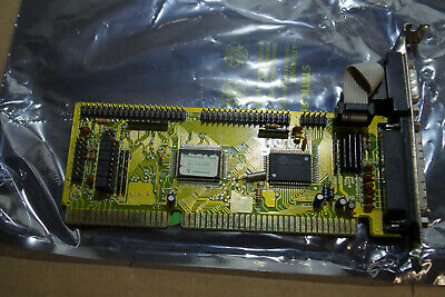 ISA 16 Bit AT Bus HDD FDD Controller I/O Port Card 2x Serial Parallel UMC • 21.99£