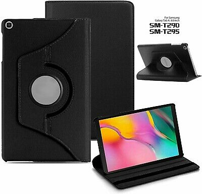 Leather Stand Flip Case Cover For Samsung Galaxy Tab A 8.0 2019 T290 T295 8 Inch • 4.99£