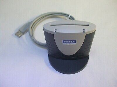 HID Omnikey Cardman 3121 USB Tachodisc Reader With Stand  FREE UK Delivery • 16.99£