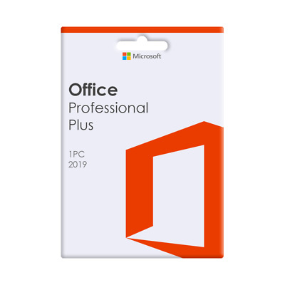 Microsoft Office 2019 Professional Plus For 1 PC - DVD Included • 58.48£