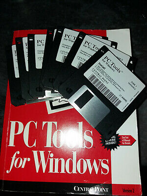 PC Tools For Windows By Central Point • 20£
