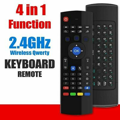 MX3 Air Mouse Wireless Keyboard Remote Control Android BOX Smart TV PC Laptop • 6.99£