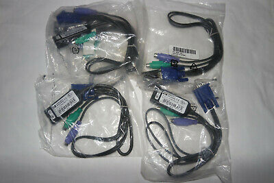 NEW HP KVM Interface Console Cable Cat 5 To VGA UNC1-2305, HP SPARES 286597-001  • 10.95£