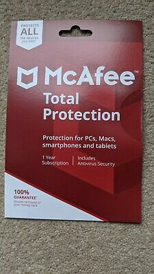 McAfee Total Protection All Devices You Own • 7£