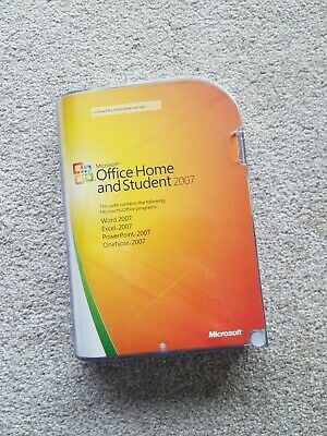 Office Home And Student 2007 With Product Key • 5£