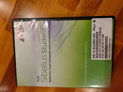 Sibelius Student, CD-ROM, Installation Guide And CD Case • 1.95£