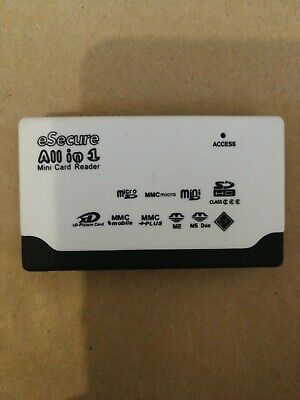 All In One Memory Card Reader USB External SD SDHC Mini Micro M2 MMC • 1£