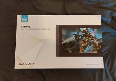 Huion Kamvas 13 Graphics Monitor/Tablet (Opened, Barely Used) • 220£