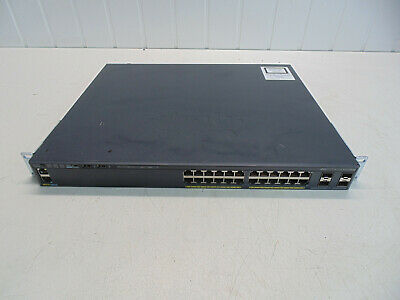Cisco Catalyst 2960-x Ws-c2960x-24ps-l   Ethernet Switch • 175£